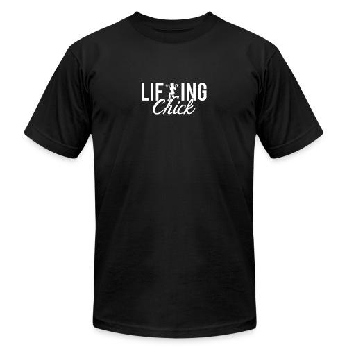 Lifting Fitness Chick - Men's  Jersey T-Shirt