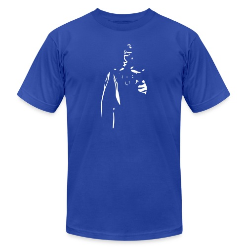 Rubber Man Wants You! - Unisex Jersey T-Shirt by Bella + Canvas