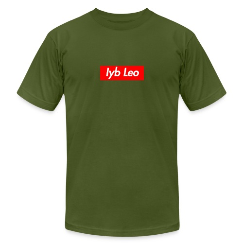 Iyb Leo Box Logo - Men's  Jersey T-Shirt