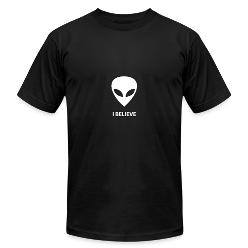 I BELIEVE ALIEN - Unisex Jersey T-Shirt by Bella + Canvas