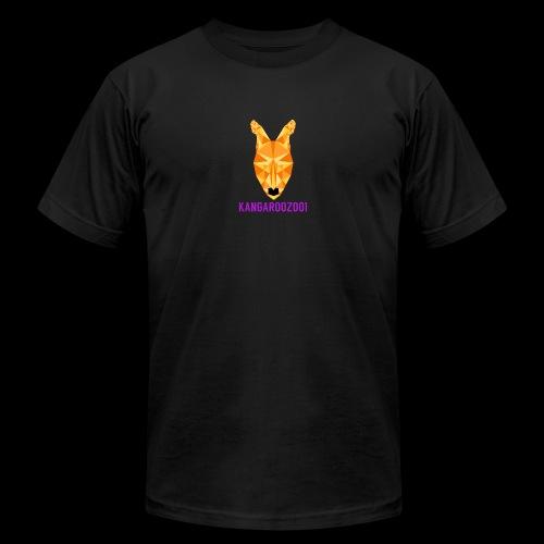 Kangaroozoo1 Logo & Name - Unisex Jersey T-Shirt by Bella + Canvas