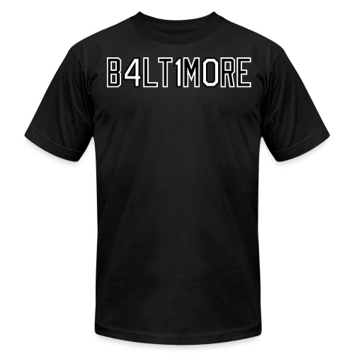 B4LT1M0RE - Unisex Jersey T-Shirt by Bella + Canvas