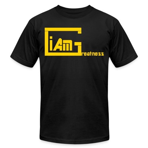 iAmGreatness Design 3 - Unisex Jersey T-Shirt by Bella + Canvas