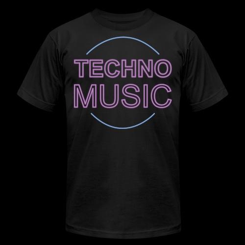 Techno Music - Unisex Jersey T-Shirt by Bella + Canvas