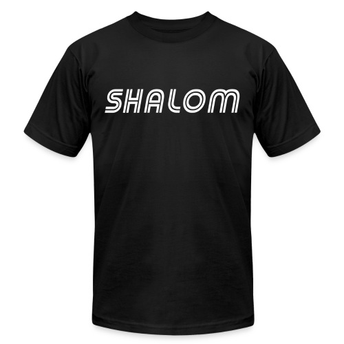 Shalom, Peace - Unisex Jersey T-Shirt by Bella + Canvas