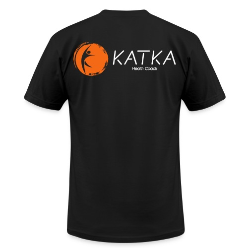 katka logo full c - Unisex Jersey T-Shirt by Bella + Canvas