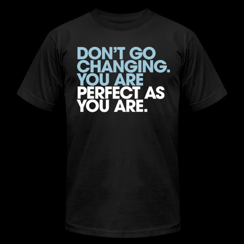 Perfect As You Are - Men's Jersey T-Shirt
