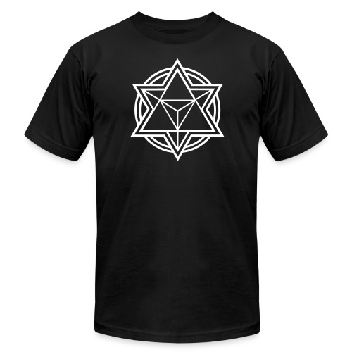 Merkaba Music Logo - Unisex Jersey T-Shirt by Bella + Canvas