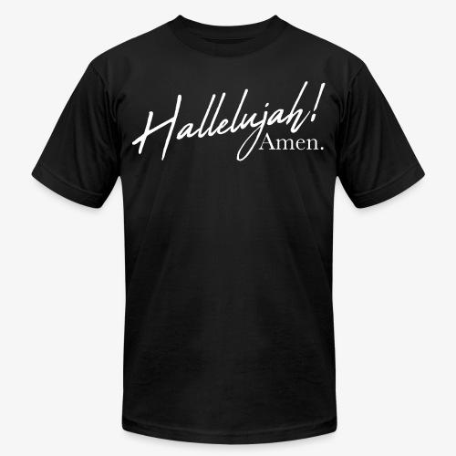 Hallelujah Amen - Unisex Jersey T-Shirt by Bella + Canvas