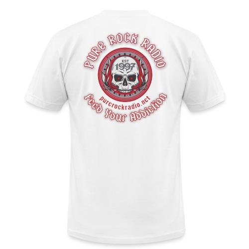 PRR Molenoise Skull (Front) + Circle Logo (Back) - Unisex Jersey T-Shirt by Bella + Canvas