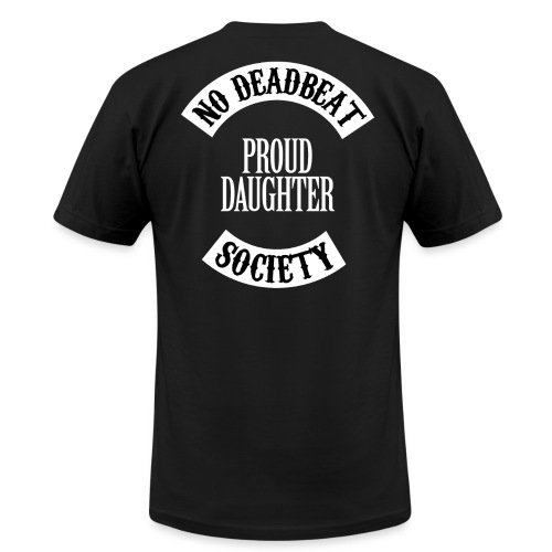 Proud Daughter T-shirt (Kids) - Unisex Jersey T-Shirt by Bella + Canvas