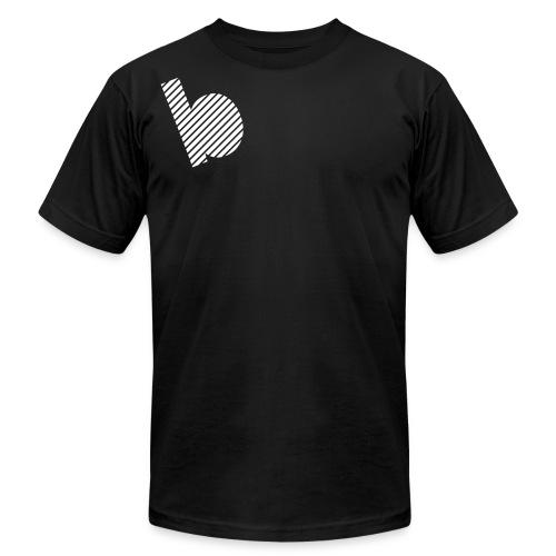 B Halftone - Unisex Jersey T-Shirt by Bella + Canvas