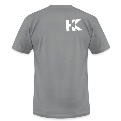 hkallwhite - Unisex Jersey T-Shirt by Bella + Canvas