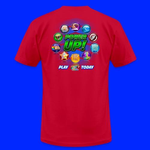 Vintage Cannonball Bingo Power-Up Tee - Men's  Jersey T-Shirt
