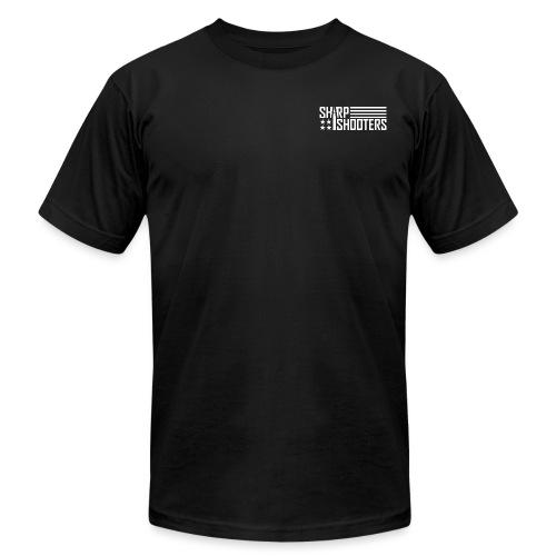Sharp Shooters Logo - Unisex Jersey T-Shirt by Bella + Canvas