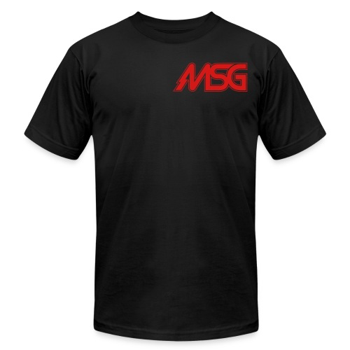 MSG Logo - Unisex Jersey T-Shirt by Bella + Canvas
