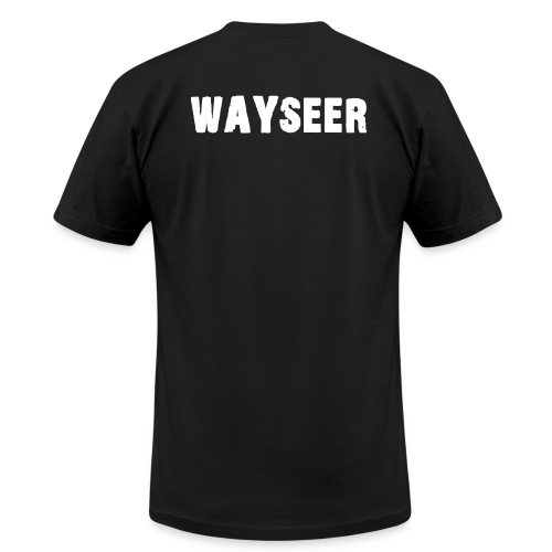 WAYSEER on back only - Unisex Jersey T-Shirt by Bella + Canvas