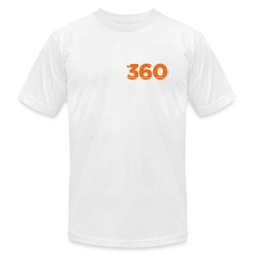 Move360 Logo LightGrey - Unisex Jersey T-Shirt by Bella + Canvas