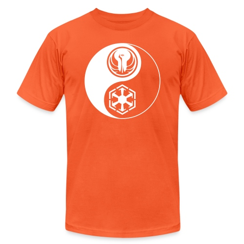Star Wars SWTOR Yin Yang 1-Color Light - Unisex Jersey T-Shirt by Bella + Canvas