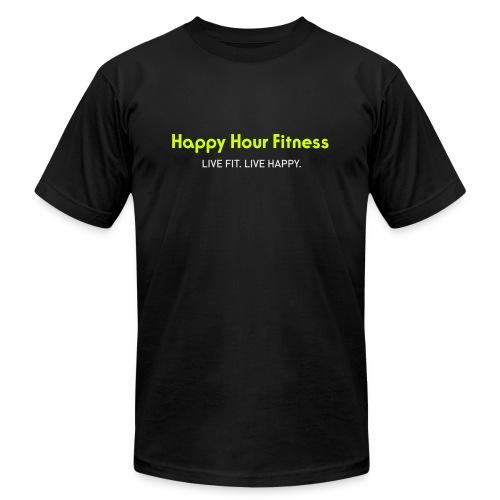HHF_logotypeandtag - Unisex Jersey T-Shirt by Bella + Canvas