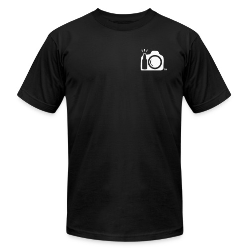 White Transparent No Initials Logo ONly png - Unisex Jersey T-Shirt by Bella + Canvas