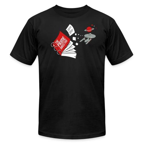 Prime Directive 3 color Title White - Men's Jersey T-Shirt
