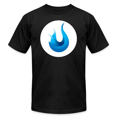 flame front png - Unisex Jersey T-Shirt by Bella + Canvas