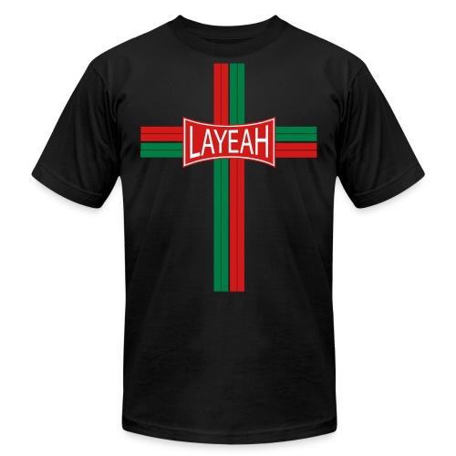 Portugy Cross Three - Unisex Jersey T-Shirt by Bella + Canvas