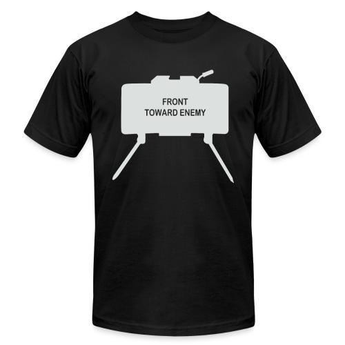 Claymore Mine (Minimalist/Light) - Unisex Jersey T-Shirt by Bella + Canvas