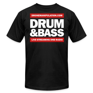 Drum and Bass - Men's T-Shirt by American Apparel