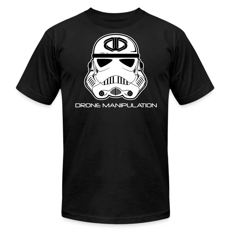 Drone Manipulation - Storm Trooper - Men's T-Shirt by American Apparel