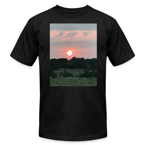 Nature Sunset - Men's Fine Jersey T-Shirt