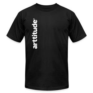 Arttitude Black - Men's Fine Jersey T-Shirt