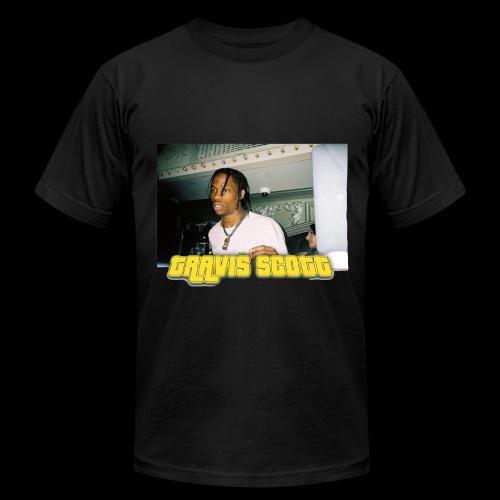 Travis Scott La Flame - Men's Fine Jersey T-Shirt