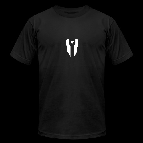Divided Time Logo - White - Men's Fine Jersey T-Shirt