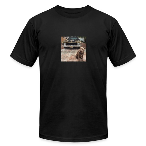 all in the muscle - Men's Fine Jersey T-Shirt