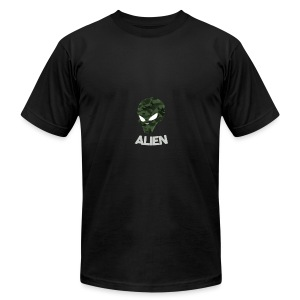 Military Alien - Men's Fine Jersey T-Shirt