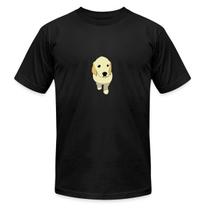 Golden Retriever puppy - Men's Fine Jersey T-Shirt