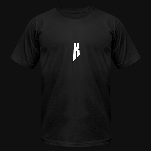 Knight White Logo - Men's Fine Jersey T-Shirt
