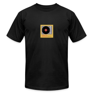 Music Truth Retro Record Label - Men's Fine Jersey T-Shirt