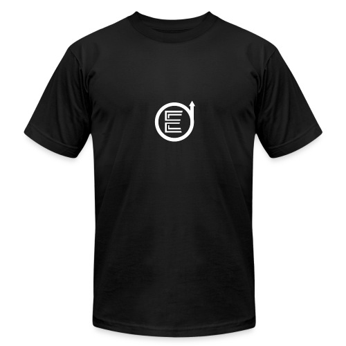 Classic Black Elevated Shirts - Men's Fine Jersey T-Shirt