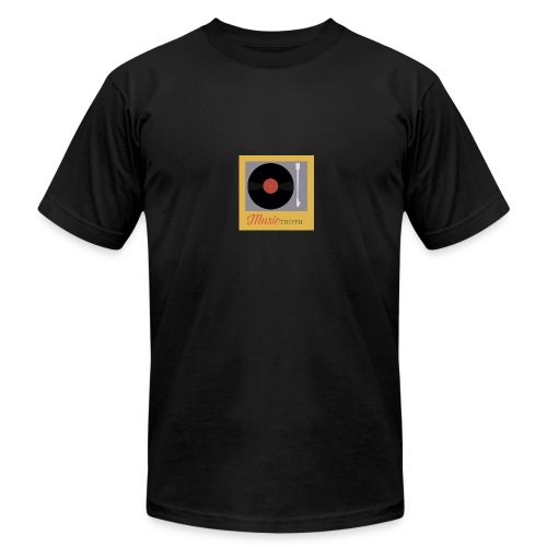 Music Truth Retro Record Label - Men's Fine Jersey T-Shirt