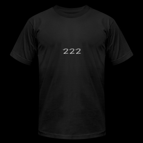 222 Chalk Style Pocket Logo - Men's Fine Jersey T-Shirt