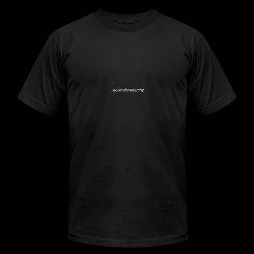 'Black' Aesthetic Anarchy - Men's Fine Jersey T-Shirt