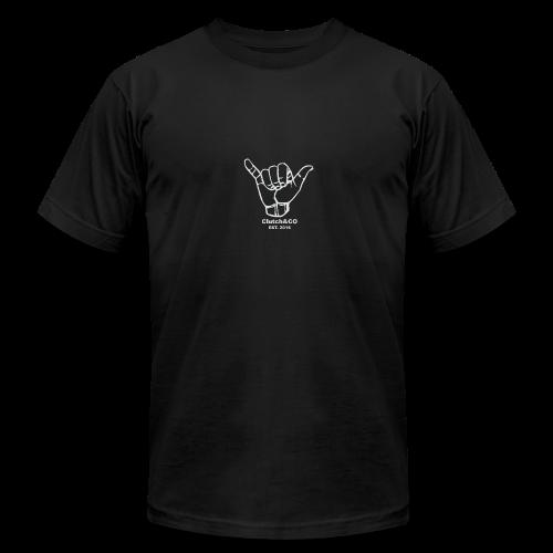 Grey Shaka for Black Clothing - Men's Fine Jersey T-Shirt