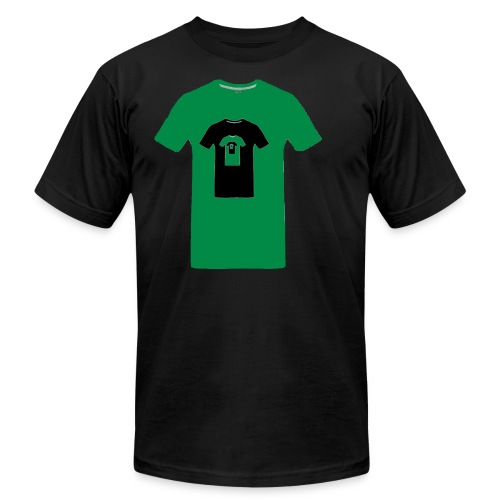 Green en abîme - Men's Fine Jersey T-Shirt