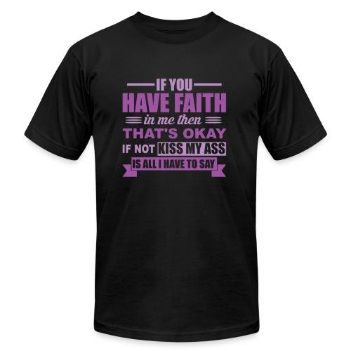 Faith - Men's Fine Jersey T-Shirt