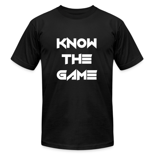 Know the Game - Men's Fine Jersey T-Shirt