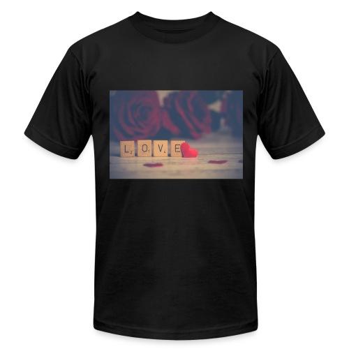 LOVE - Men's Fine Jersey T-Shirt