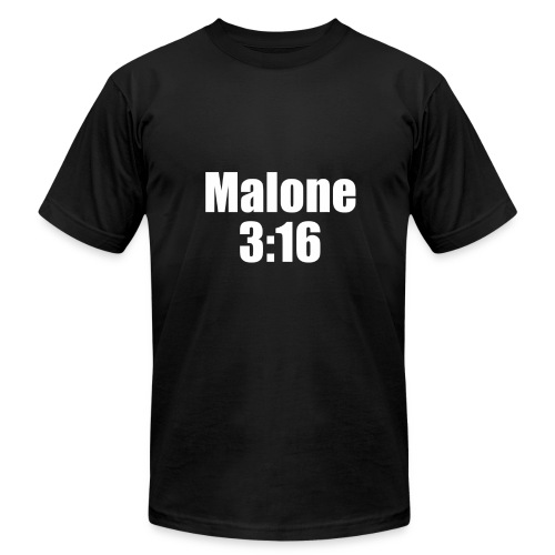 Post Malone parody logo - Men's Fine Jersey T-Shirt